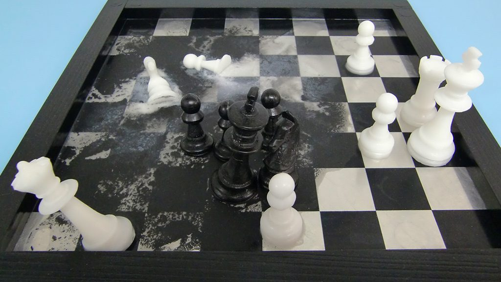 Usio, Chess by Beauty & the Widower